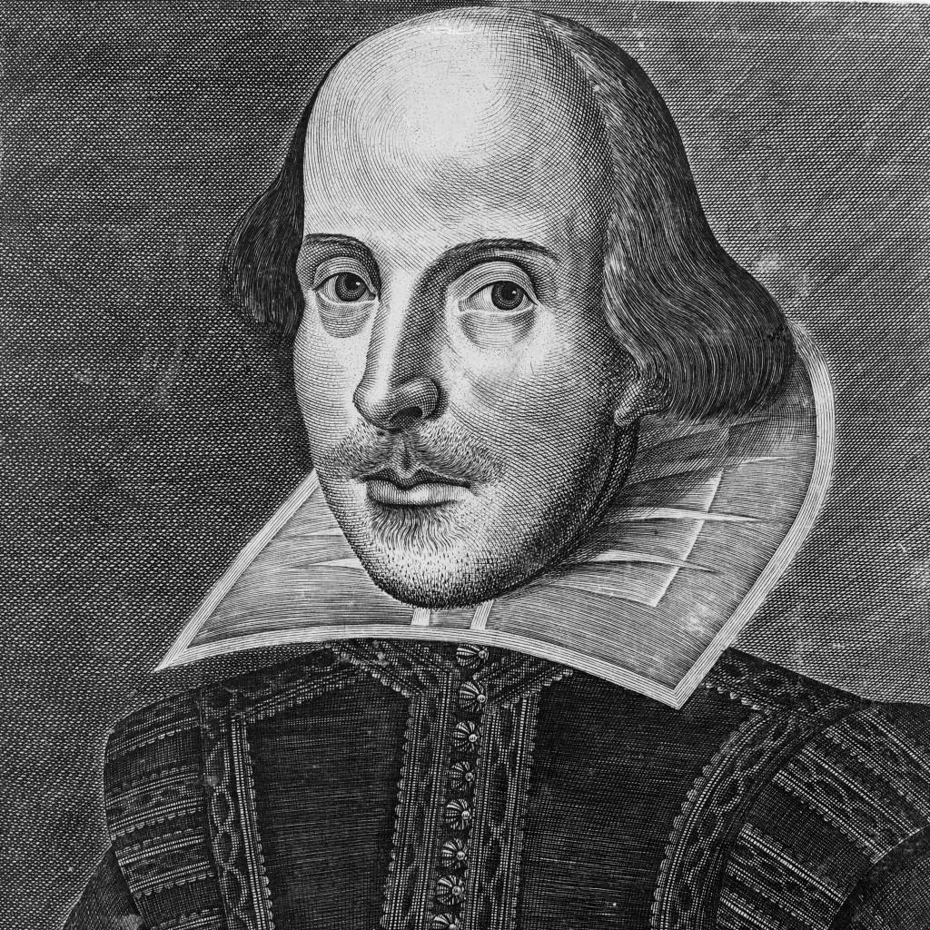 Shakespeare_Droeshout portrait_1623