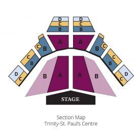 Toronto Consort seating plan
